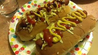 New Year's Eve Hotdogs
