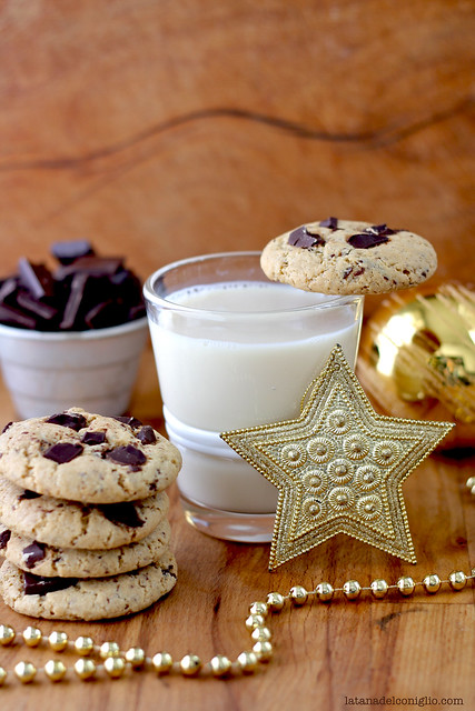 chocolate chip gingerbread cookies6