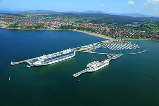 Cruceros en el Puerto de Bilbao.
