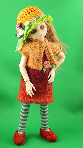 knit dress & cardi - Amber