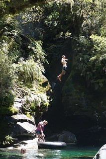 People diving at the Chasm
