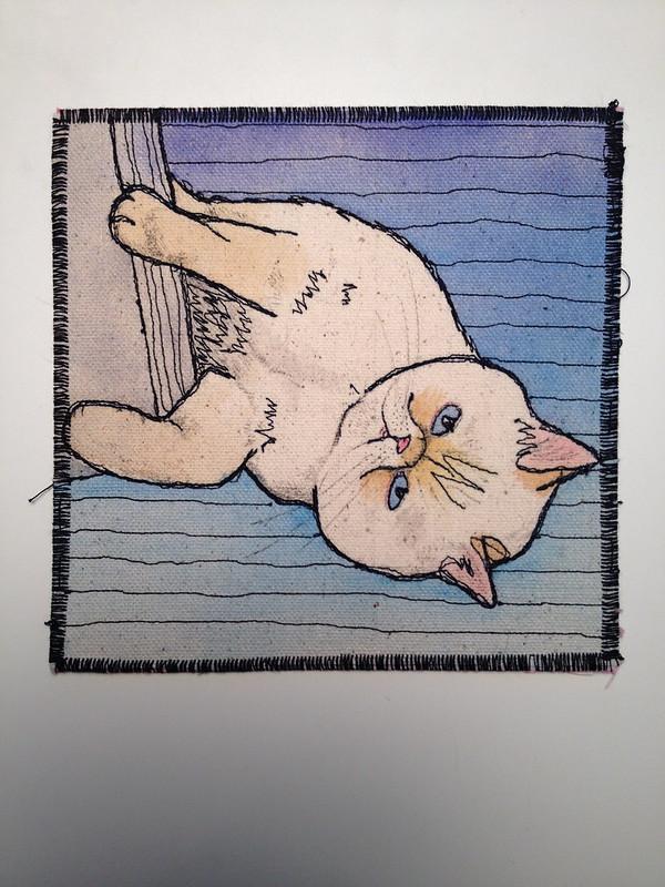 Linus on the floor thread sketch