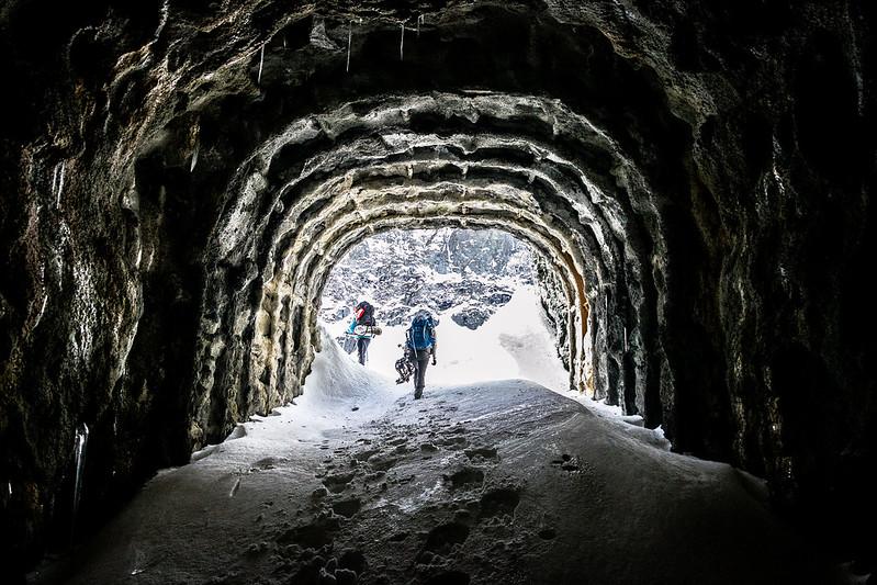 Tunnel prima del Lago dietro La Torre