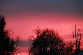 Winter 2015 Sunset.