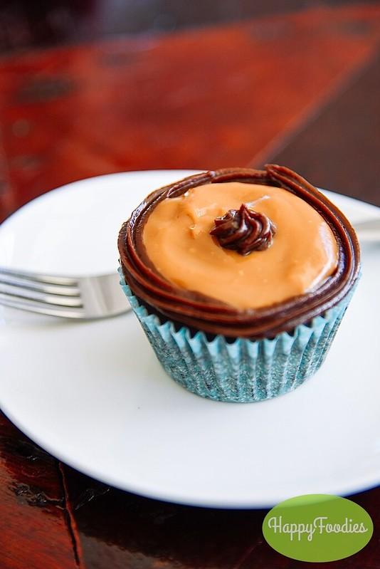 The Choco Yema cupcake