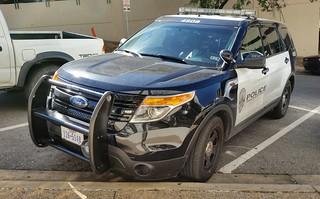 Austin, TX Police Ford Police Interceptor Utility