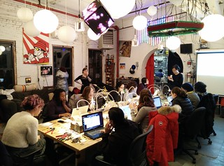 Game programming with the Teensy at NYC Resistor