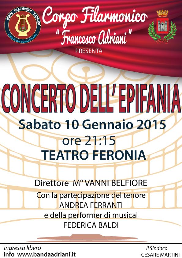MANIFESTO #ConcertoEpifania2015