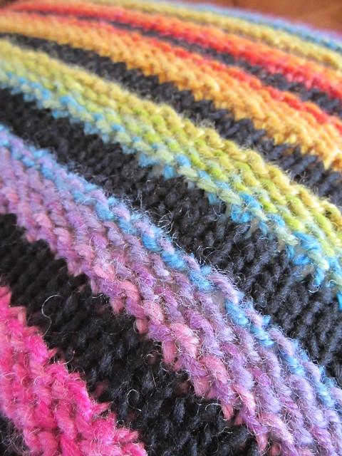 Wurmy rainbow cushion (8)