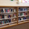Happy New Year! The transformation of library Reference shelves to Fiction begins!