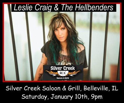 Leslie Craig & The Hellbenders 1-10=15