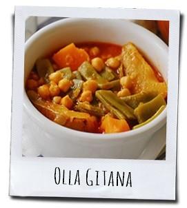 """Olla Gitana, een heerlijke vegetarische """"Zigeunerpot"""""""