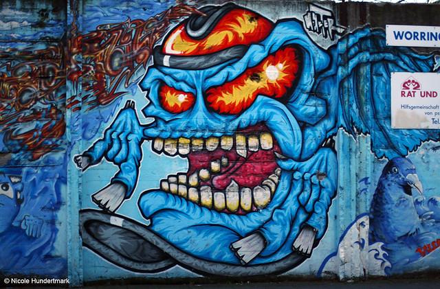 Streetart in Köln-Nippes