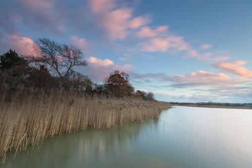sunset lake reeds weymouth rspb radipole canon5dmkii canon163528liiusm