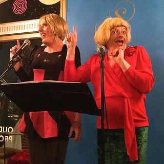 Meander & Bijoux - hiv diner - Rotterdam - drag queens
