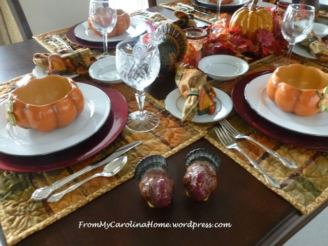 Thanksgiving Tablescape 7