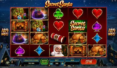 Secret Santa slot game online review