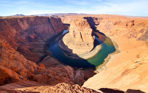 travel arizona water landscape outdoor horseshoebend