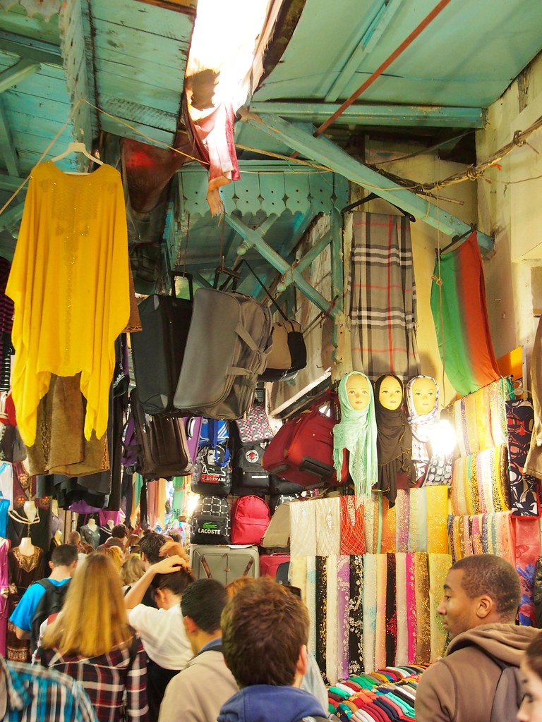 The souk in the Medina, Tunis (Tunisia)