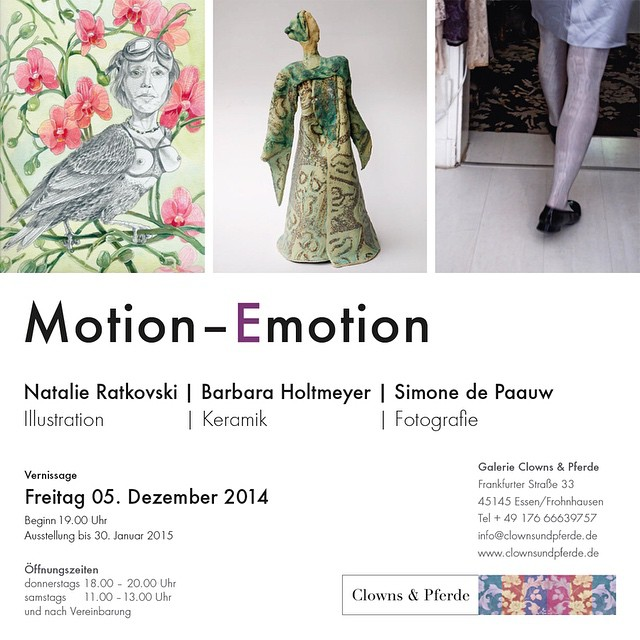 You are welcome 😊 #natalie_ratkovski #exhibition