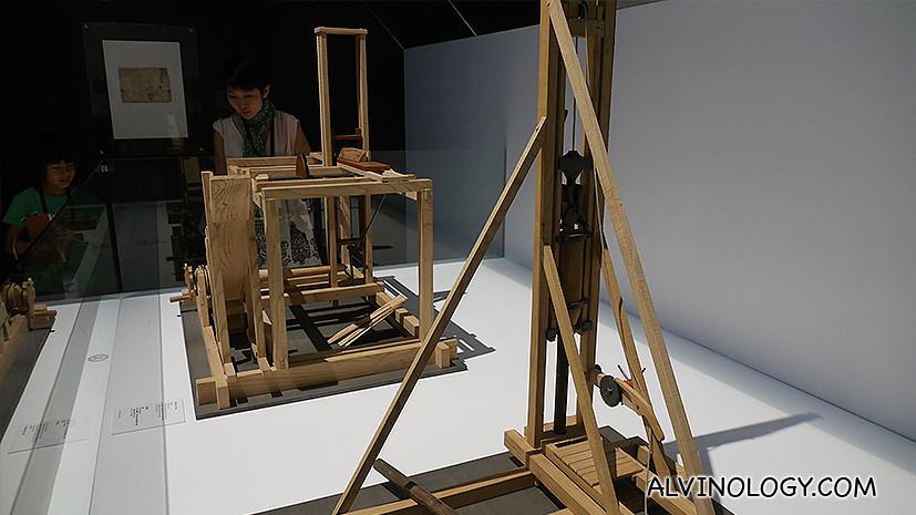 More of da Vinci's inventions
