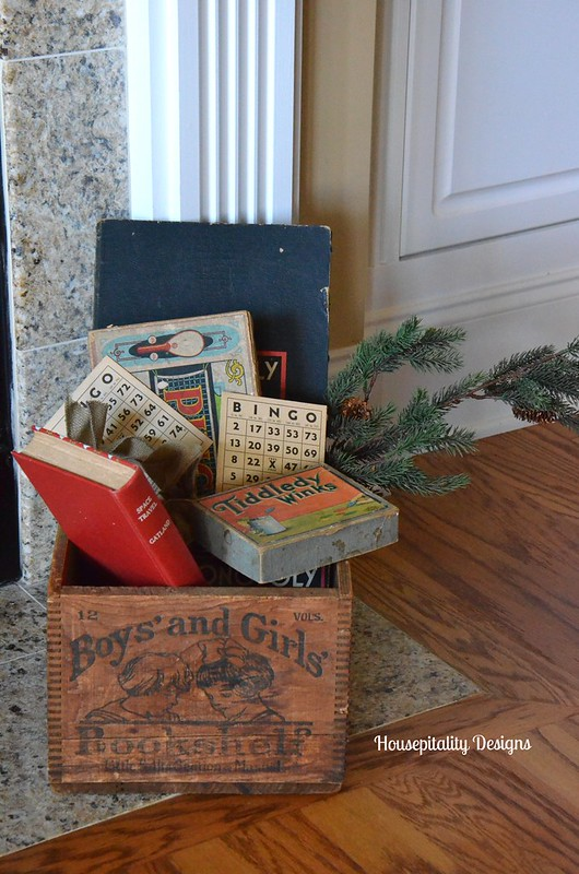 Vintage Box and games/Housepitality Designs