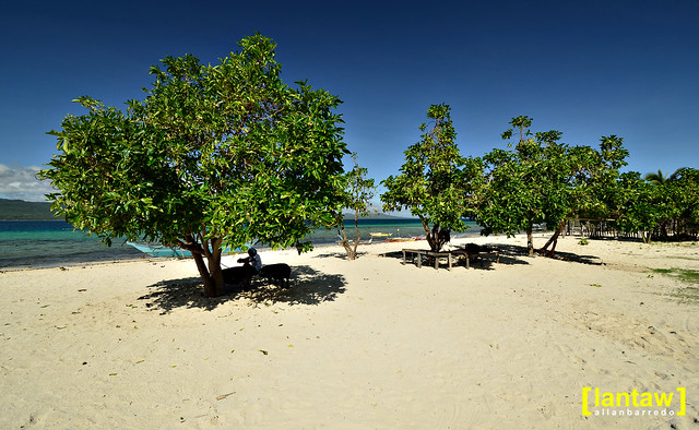 Alibijaban beach front