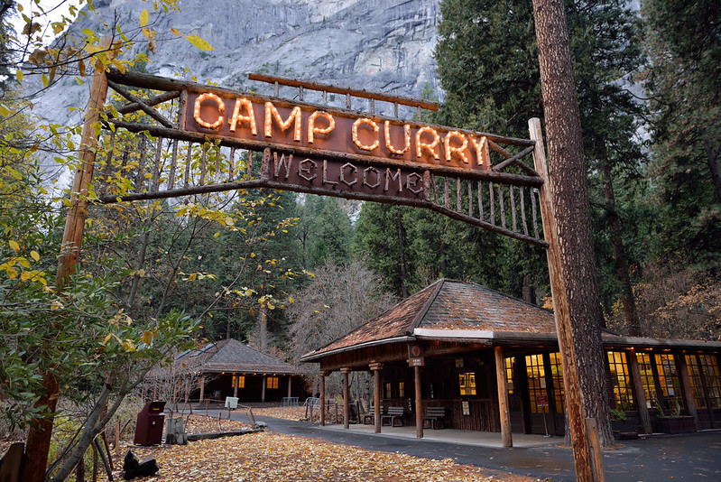 Camp Curry 入口