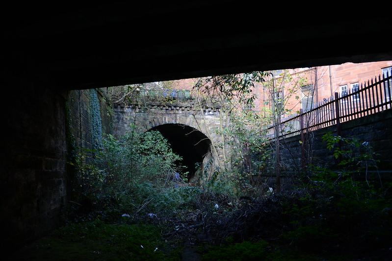 Great Western Road Tunnel portal