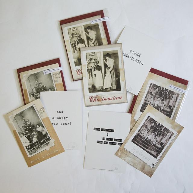 Brocante kerstkaarten 2014 Vintage Christmas - Brocantepost