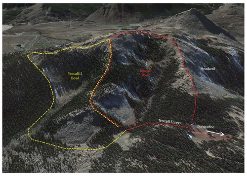 Teo2 Expansion area at Crested Butte
