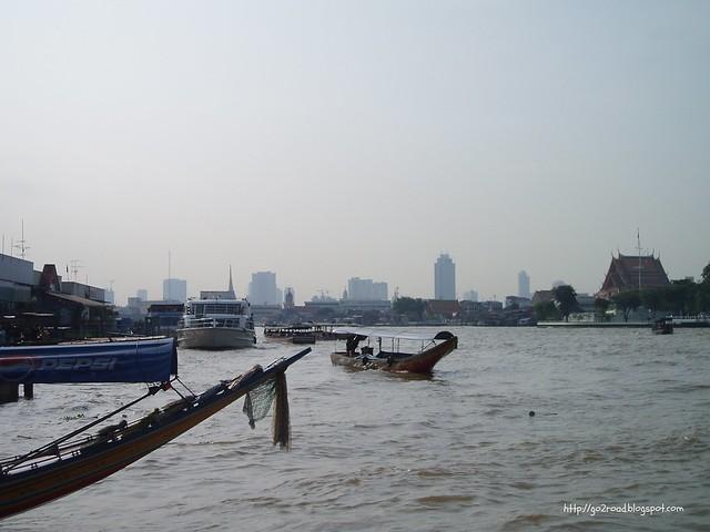 Бангкок. река