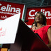 Justin and Celina thank supporters in Whitby-Oshawa. November 17, 2014.