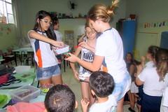 Visita alunas 7º ano à Unidade Santa Helena