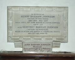 Barham Johnson and sons