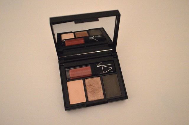 Inside the NARS Laser Cut Eyes, Cheeks and Lips Palette