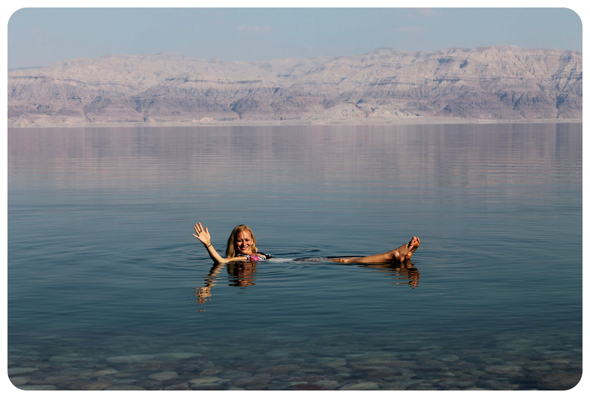 dead sea dani floating