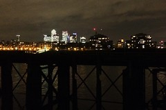 310/365 Canary Wharf from the river at Deptford