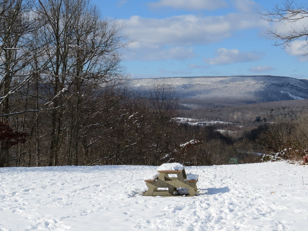 The Great Wall of Blue Mountain, Pocono, Pennsylvania