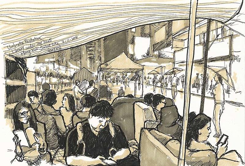Mongkok_umbrellarevolution_library_sm