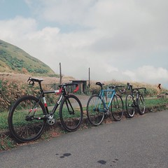 _ . from Taipei,Taiwan👍 . 荒草🌾🌾碧連天☁️☁️🌀🌀 . . #njs #condor #lavoro #pista #statigram #fixedgear #instahub #track #taipeifixiecrew #art #bikelife #lifestyle #bike #latergram #自転車 #taipei #ride #life