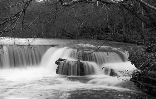 tree nature water monochrome forest landscape blackwhite waterfall december tennessee fineart filter splash bnw 2014 middletennessee duckriver tamron1750 middletn southeastus pentaxian pentaxk5