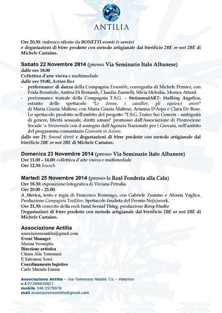 Programma MUTA 21,22,23e 25 Nov._2