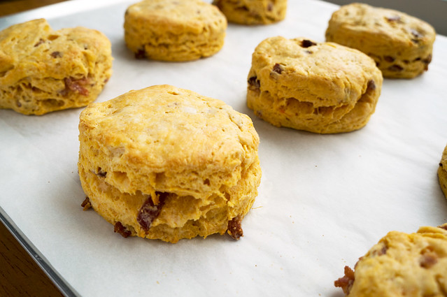 biscuits with layers