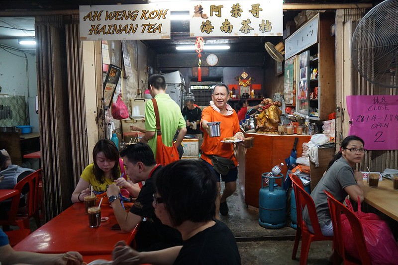 imbi morning market - ah weng koh