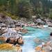 Soca River near Bovec, Slovenia by Atilla2008
