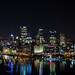 Pittsburgh Closer at Night
