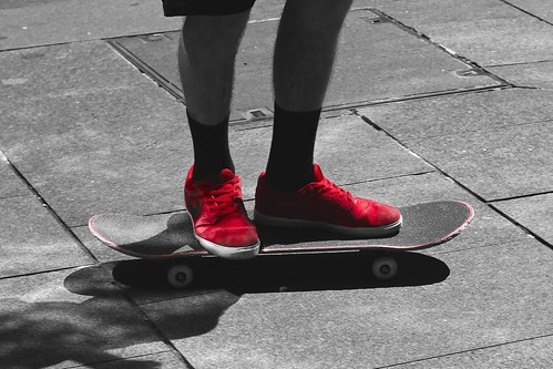 Red Sneakers spot