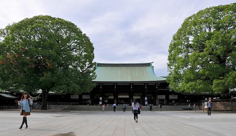 Meiji Jingu great Tori