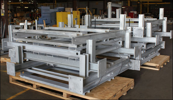 Instrument Stands Designed to Mount Instrument Panels in an LNG Facility